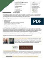 The Natural Building Companion Press Release