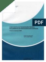 ITE 50 _Coeficiente deTransmissãoTérmica