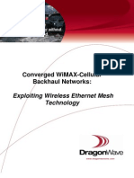 APP-169 Converged WiMax-Cellular BH Networks- Exploiting Wireless Ethernet Mesh Technology 06-09[1]
