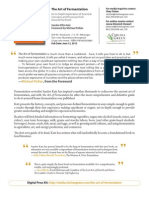 The Art of Fermentation Press Release