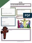 Letter Template Easter