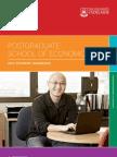 Postgraduate School of Economics 2012 Handbook