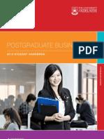 Postgraduate Business School 2012 Handbook