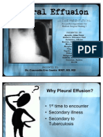 Pleural Effusion Ppt