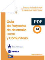 Doc Guia de Prpyectos de Desarrollo Local o rio
