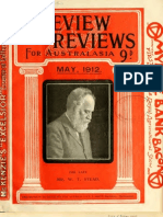 The Review of Reviews (For Australasia), May 1912