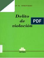 Delito de Violacion Juan Sproviero