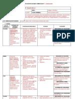 Ejemplos de Planificacion Didactica Por Bloques Curriculares