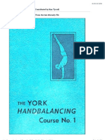 The York Hand Balancing Course No.1
