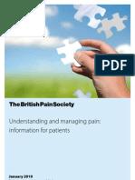 Book Understanding Pain