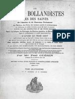Paul-Guérin-LES-ORIGINES-DE-LA-FOI-CHRETIENNE-DANS-LES-GAULES-Les-Petits-Bollandistes-Tome-14-pp-655-685-Paris-1888
