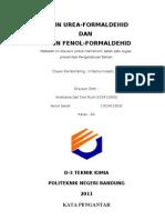 Resin Fenol-urea Formaldehid