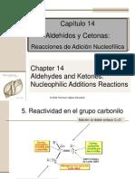 Aldehidos y Cetonas Reacciones
