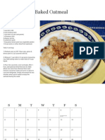 The Menocal's How to Eat Well 2012 Calendar