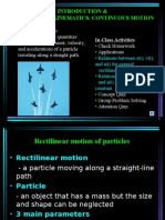 1.Lecture Notes 1_kinematics of Particle