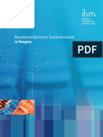 Broadband Electronic Communications in Hungary V1