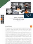 18659436 Guaranty Trust Bank GT Bank Presentation Financial Results December 2008
