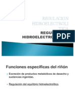7.1 REGULACION HIDROELECTROLITICA