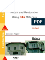 Concrete Repair & Restoration (Sika)