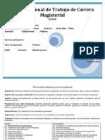 NUEVO FORMATO2 Plan Anual de Trabajo Para Carrera Magisterial - Para Combinar