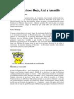 Guía de Pokémon Rojo, Azul y Amarillo