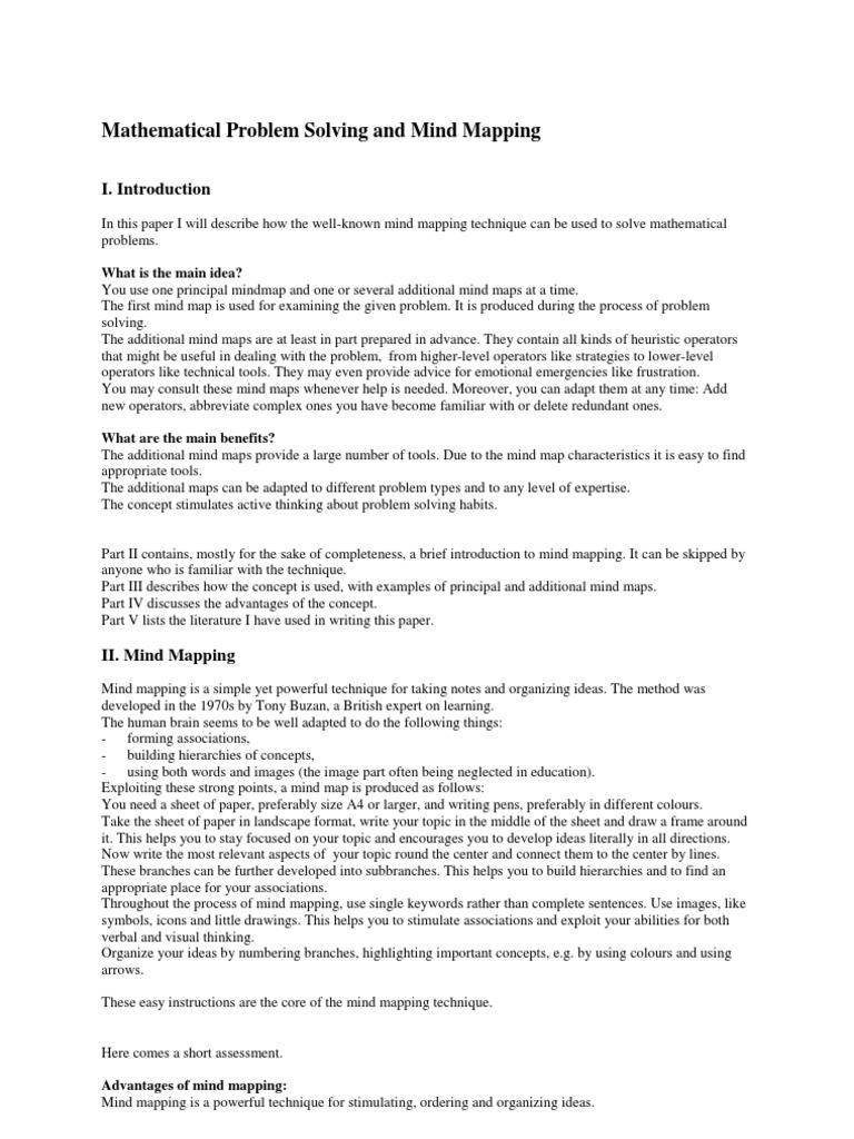 list of problem solving tools