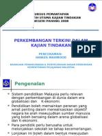 Kajian Tindakan 2008 BPPDP