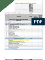 IT Declaration Format