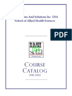 Course Catalog Single Pages 2011-2012