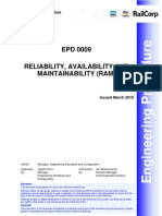 Reliability Availability and Maintain Ability (RAM)