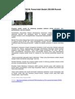 Kliping Berita Perumahan Rakyat Online 25 januari 2012