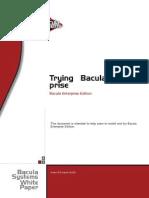Bacula Enterprise Trial