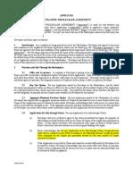 Appbackr Developer Backr Agreement  for TriviaTunes, Sushi Chain 2, and POPVOX v1.0.1