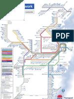 City Rail Network Map