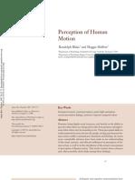 Perception of Human Motion