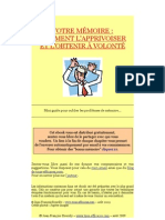 Apprivoisez Votre Mémoire - ebook gratuit