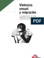Violencia Sexual y Migración. La realidad oculta de las Mujeres Subsaharianas Atrapadas
