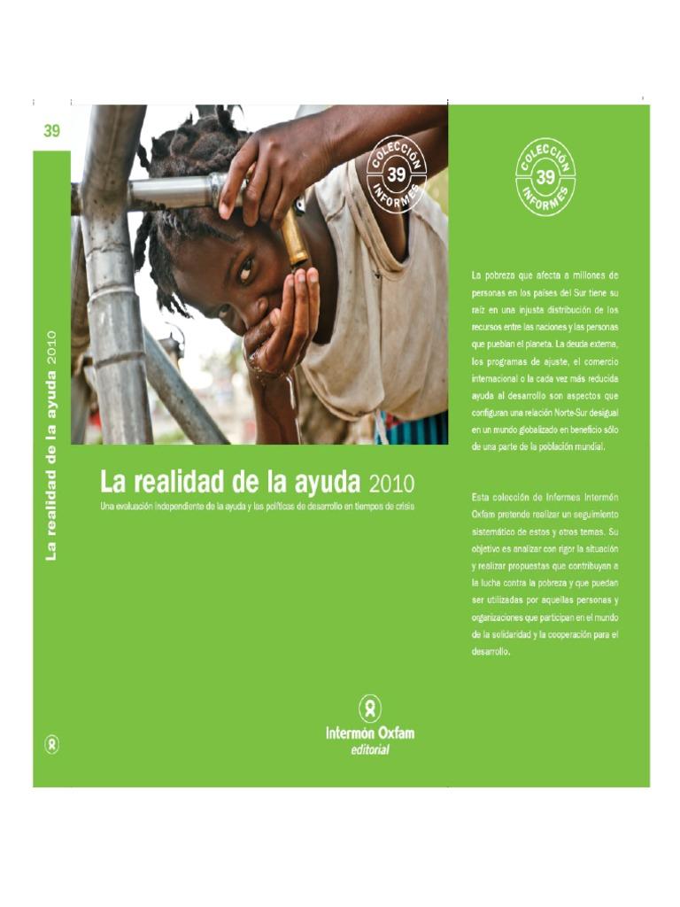 Calendario Escolar 202018 Castilla La Mancha.La Realidad De La Ayuda Al Desarrollo 2010