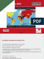 La Libertad de Prensa en el Mundo 2010