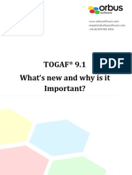 Togaf 9.1 What s New and Why is It Important
