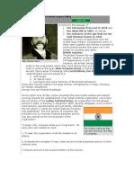 Establishment of Indian National Congress