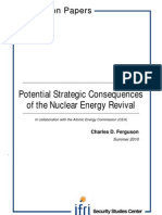 Potential Strategic Consequences of the Nuclear Energy Revival