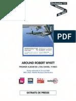 """Revue de presse de l'album """" Around Robert Wyatt """" de l'Orchestre National de Jazz (BEE030)"""