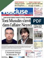 Edition Complete Haut Vaucluse Du 06-10-2011