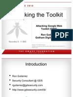 Attacking Google Web Toolkit