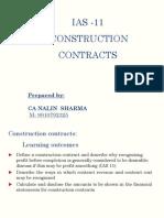 Ias 11 Construction Contract