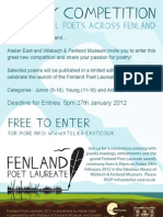 Fenland Poet Entry Form Further Info