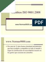 Cambios-ISO-9001-2008