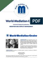 World-Mediation-Centre / Training