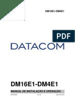 204-0025-22 - DM4E1-DM16E1 - Manual de Instalacao e Operacao
